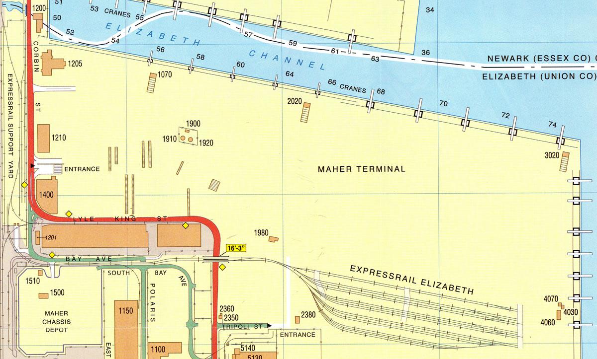 Locations U0026 Directions | Maher Terminals LLC